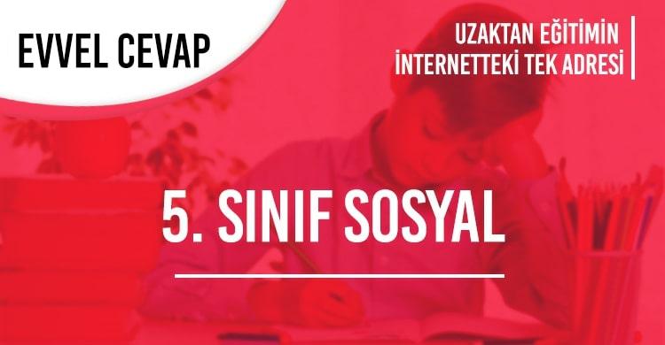 5. Sınıf Sosyal Bilgiler Test Çöz