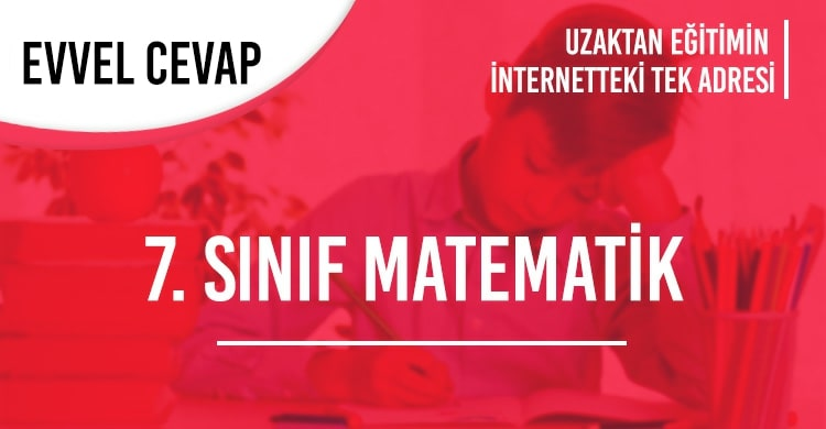 7. Sınıf Matematik Test Çöz